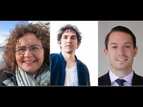 Renee Hulan (Arctic in literature), Alec Luhn (Russian Arctic) and Matt Melino (Bering Strait)