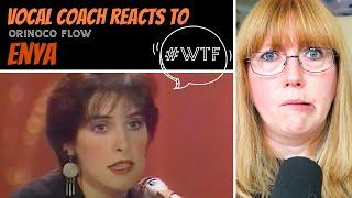 Vocal Coach Reacts to Enya 'Orinoco Flow' #whatwentwrong