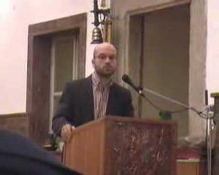Přednáška o rekatolizaci.