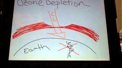 Ozone Depletion vs Global Warming