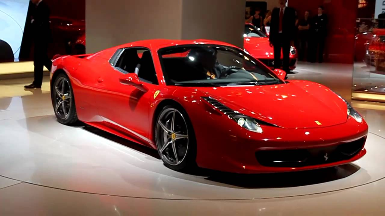 Ferrari Italia 458 >> Ferrari 458 Spider | 2011 Frankfurt Auto Show | Edmunds.com - YouTube