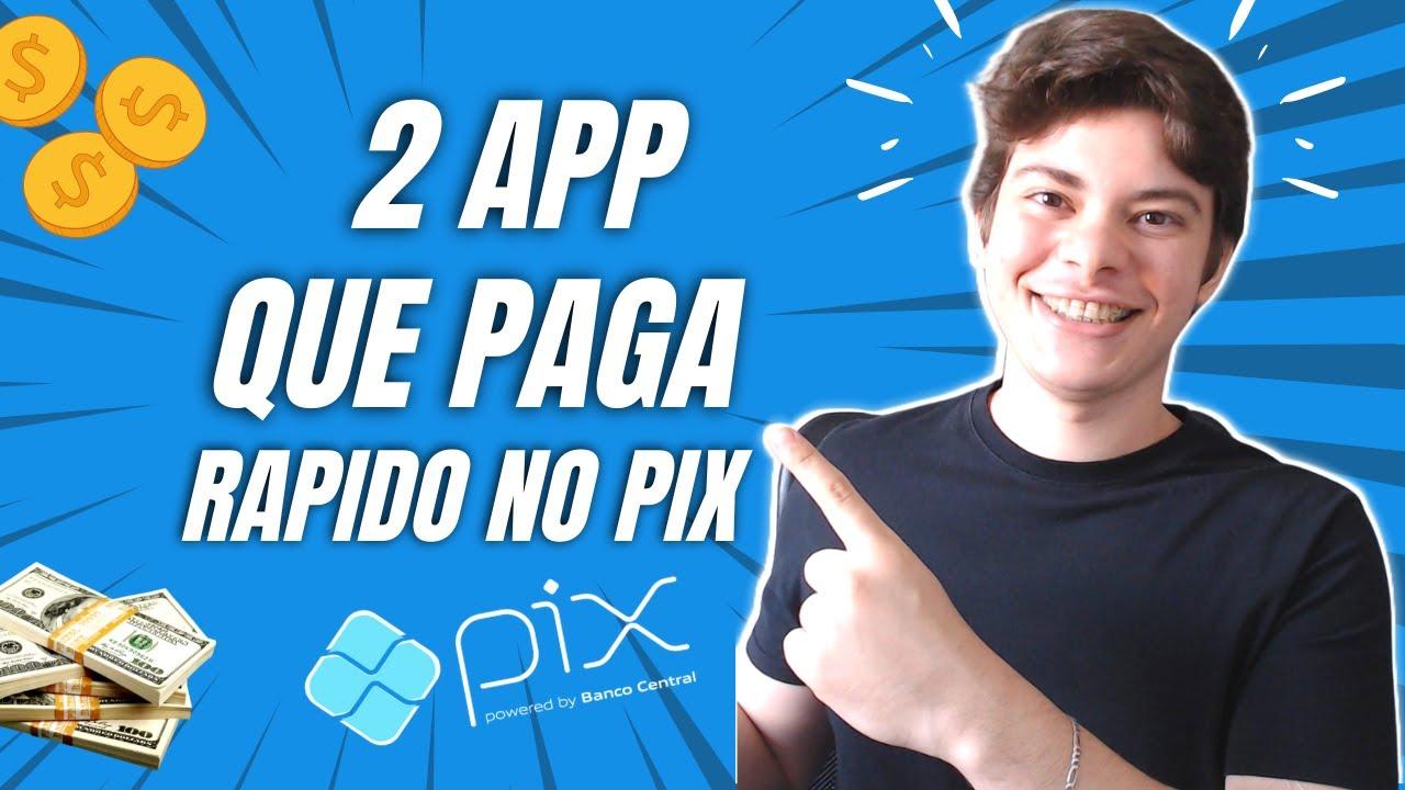 2 APP PARA GANHAR DINHEIRO VIA PIX AINDA HOJE MESMO + PROVA DE PAGAMENTO