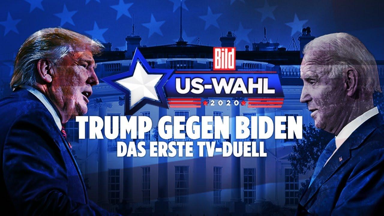 ??? LIVE: Donald Trump gegen Joe Biden – das erste TV-Duell | BILD
