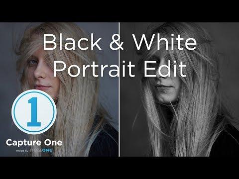 Black & White Portrait | Tutorial | Capture One 12