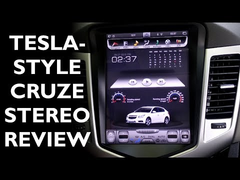 "First Impressions/Review Of ""Tesla Style"" Stereo In A 2014 Chevy Cruze"