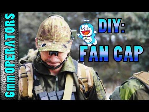 REVIEW #11 - DIY: Fan Cap -Tutorial