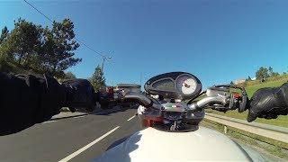 MV Agusta Brutale on road....