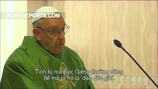 Đức Giáo Hoàng: Đức Giêsu có thầm quyền vì Ngài luôn phục vụ người khác
