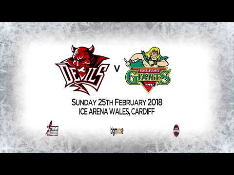 2018-02-25 - Cardiff Devils v Belfast Giants Highlights