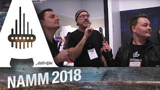 Fender Booth with Greg Koch & Mick Taylor - NAMM 2018