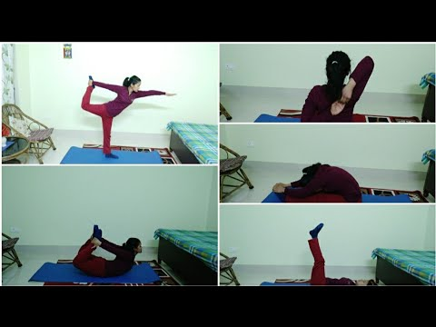 my yoga routine / yoga for pcosweight lossback pain