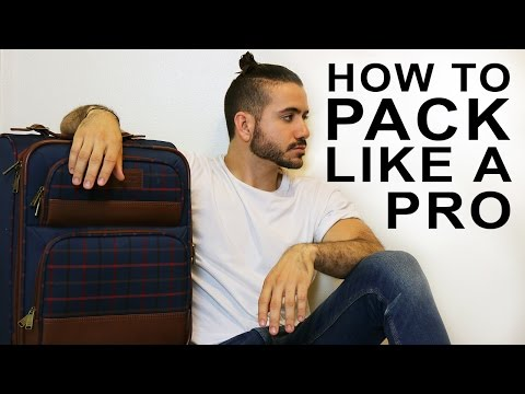 HOW TO PACK LIKE A PRO | PACK FOR VACATION | ALEX COSTA