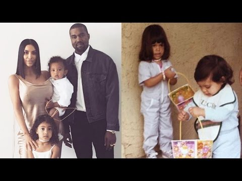 Thumbnail: Kanye Dresses Up As Easter Bunny & Kim Kardashian Shares Family Pics