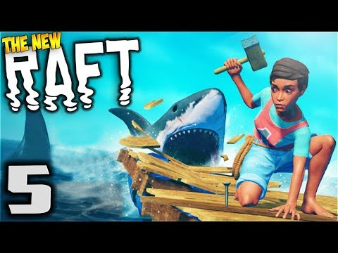 RAFT - Tree Plot - Let's Play Raft Multiplayer Gameplay Part 5 (New Multiplayer Raft Survival Game)