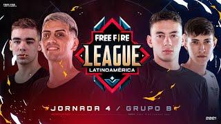 ¡Jornada 4 de la Free Fire League 2021! 🔥 | Grupo B - Apertura