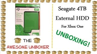 Seagate 4TB External Hard Drive for Xbox One