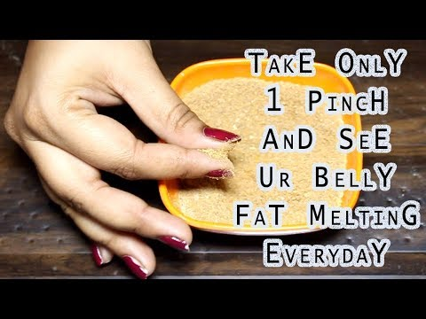 This Slimming Powder Will Melt Your Belly Fat Like a Dream || NATURAL TUMMY TUCK