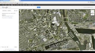 Creating KML Files from Google Maps Free HD Video