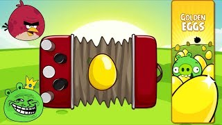 Angry Birds - SEQUENCER SOUND MUSIC GOLDEN EGG 5 LEVELS!
