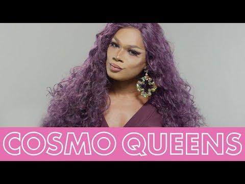 Chi Chi DeVayne Makes the Case For Purple Makeup   Cosmopolitan