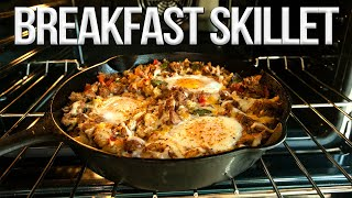 Download lagu Easy One Pan Breakfast Skillet | SAM THE COOKING GUY 4K