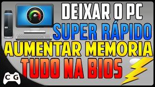 Como Aumentar a Potência do PC Pela Bios + GPU BOOST + Aumentar Memoria da Placa de Vídeo