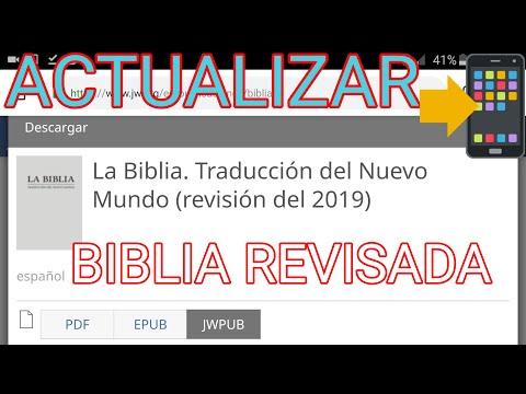 JWLibrary Actualizar Biblia Version Revisada En Español 2019, Descargar Biblia