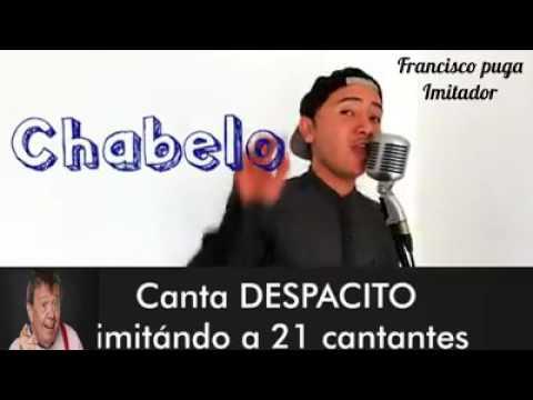 """Despacito """" interpretado por 21 artistas; vicente fernandez . shakira ana gabrie y muchos mas......."""