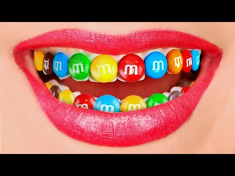 HOW TO SNEAK CANDY FROM DENTIST || Funny Food Sneaking Ideas by 123 GO! SCHOOL