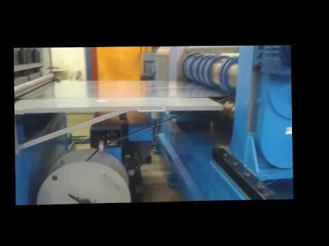 Линия размотки и резки листовой стали