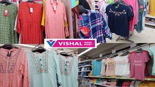 Vishal Mega Mart ladies cloth collection / Affordable kurti under RS 500 / Vishal buy 1 get 1 offer