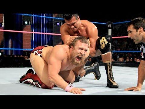 WWE Alberto Del Rio VS. Daniel Bryan - مصارعه حرة جديدة 2014 - مصارعه دانيل براين