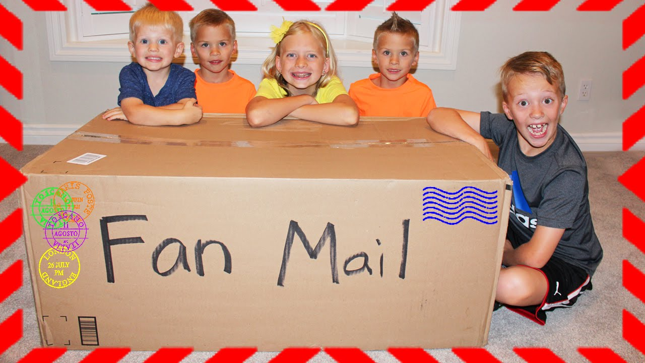 Family Fun Pack Fan Mail from Switzerland, Japan, UK, Canada, US!!