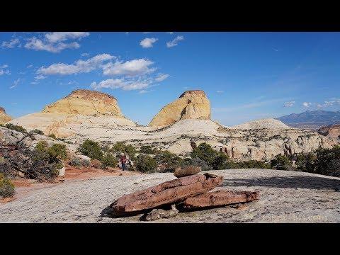 Golden Throne Hike - Capitol Reef, Utah