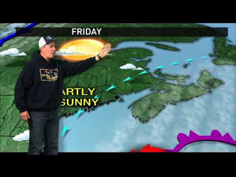 T-Bone - Bob Marley Takes Over The TV Weather In Maine