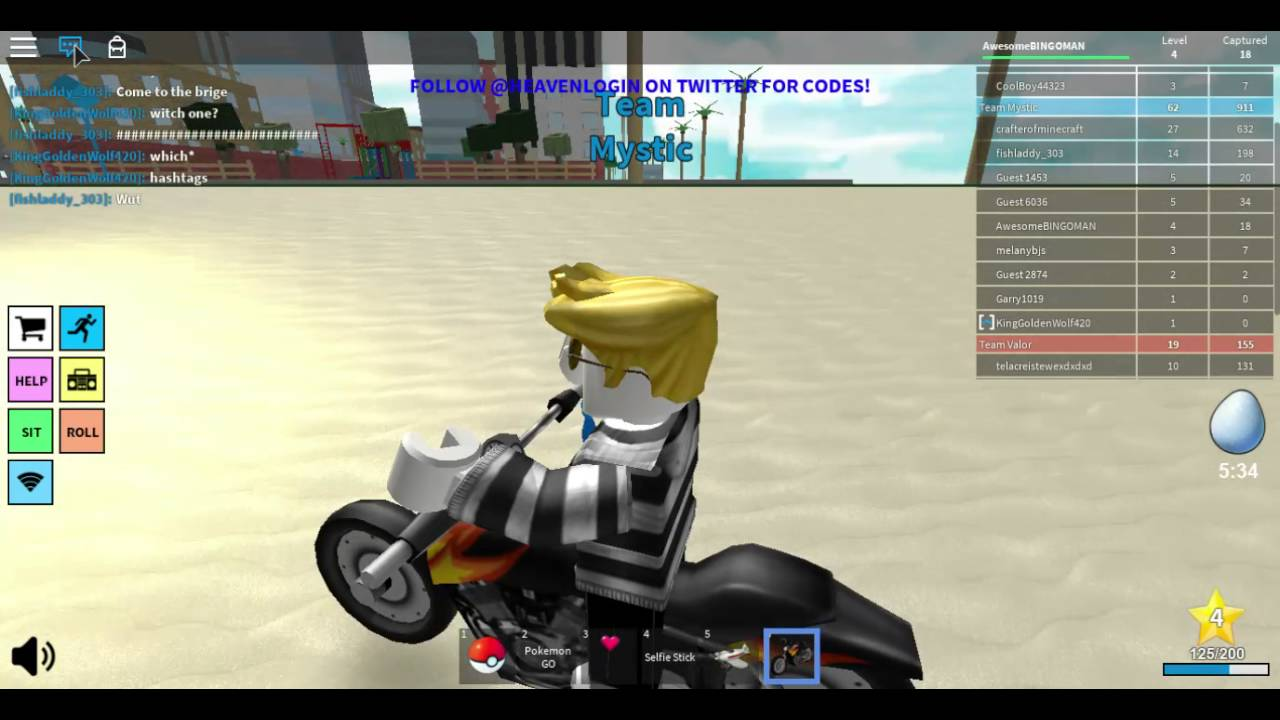 A Flying Motorcycle And A Airplane Roblox Pokemon Go Youtube