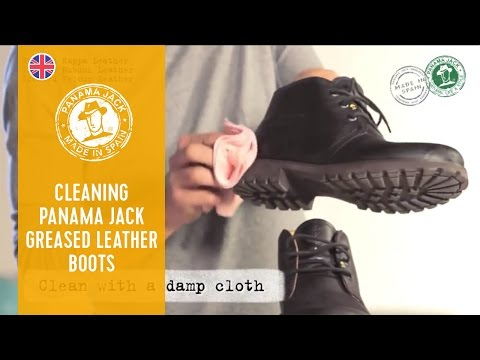 How to Clean Your Panama Jack Greased Leather Boots