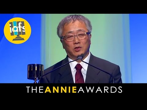 Katsuhiro Otomo Receives Winsor McCay at the 2014 Annie Awards