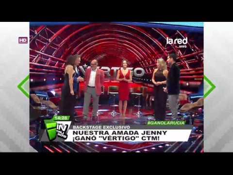 """La gente te ama Jennifer Warner: Nuestra Intrusa se convirtió en la ganadora de """"Vértigo"""""""