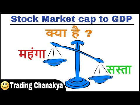 Share market capitalization to gdp ratio valuation - By trading chanakya