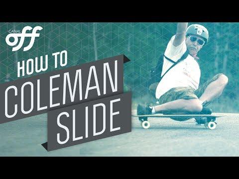 Coleman Slide - Manobras de Skate - Canal Off