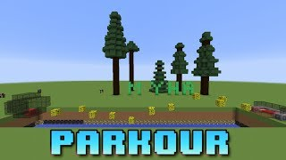 Moja mapa Parkour na 1.7.2 (Download) Minecraft