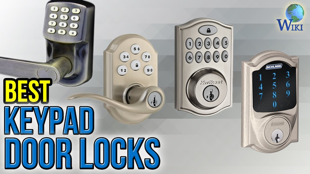 10 Best Keypad Door Locks 2017 & 10 Best Keypad Door Locks 2017 - YouTube