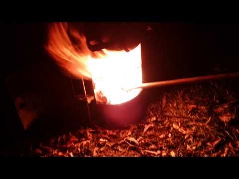 Oil fire.