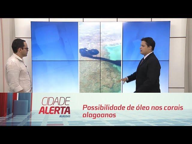 Engenheiro em ciência aquáticas fala sobre possibilidade de óleo nos corais alagoanos