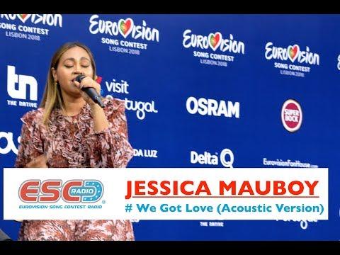 "Eurovision 2018 - Jessica Mauboy (Australia) performs acoustic version of ""We Got Love"" | ESC Radio"