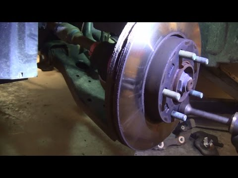 DIY How-to: Remove Stuck/Rusty Brake Rotor
