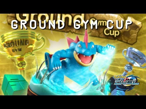 POKEMON DUEL - GROUND GYM CUP ARRIVES