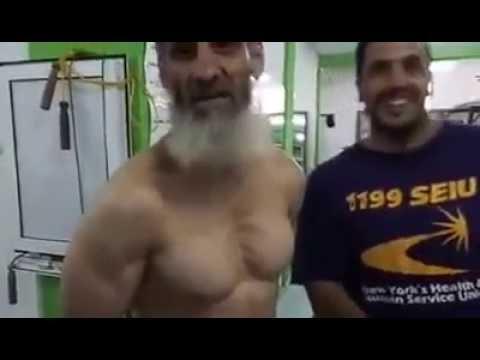 musculation un vieux de 63 ans