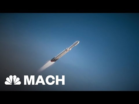 SpaceX's Falcon Heavy Launch Could Revolutionize Space Travel | Mach | NBC News